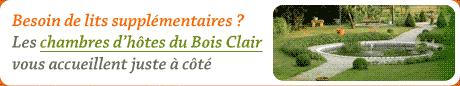 Chambres d'hôtes du Bois Clair