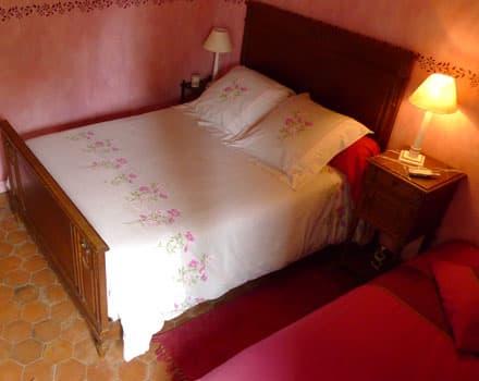 une chjambre lit double